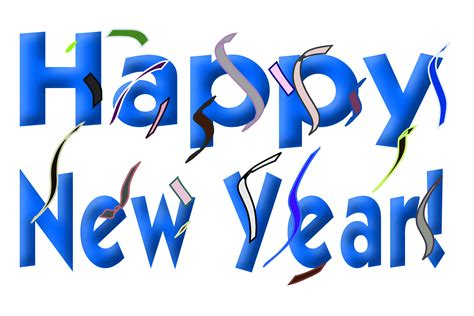 clipart happy  year