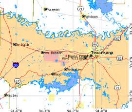 bowie county map bowie county detailed profile houses real estate