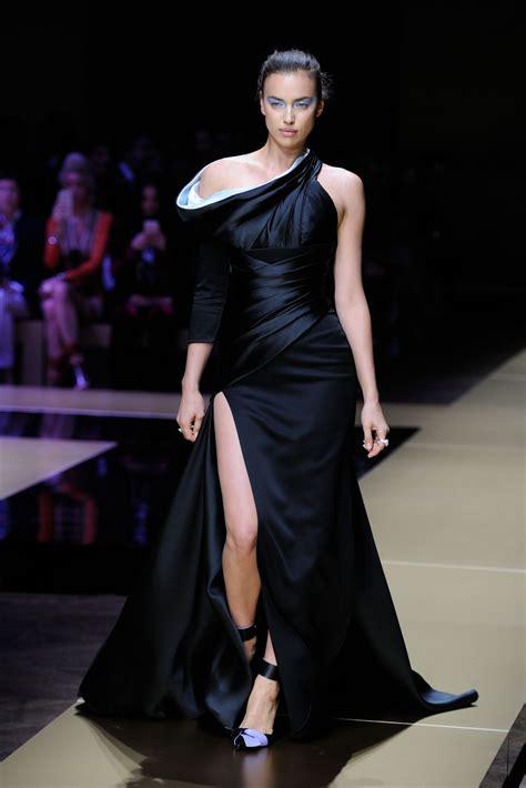 Fashion Week Day 7 by Irina Shayk Walks The Runway Versace Summer 2017
