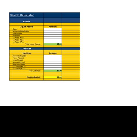 liquid template include 76 best images about financial estimate spreadsheet