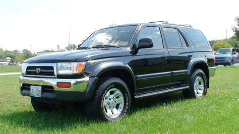2000 Toyota 4runner Towing Capacity 1998 Toyota 4runner Iii Pictures Information And Specs