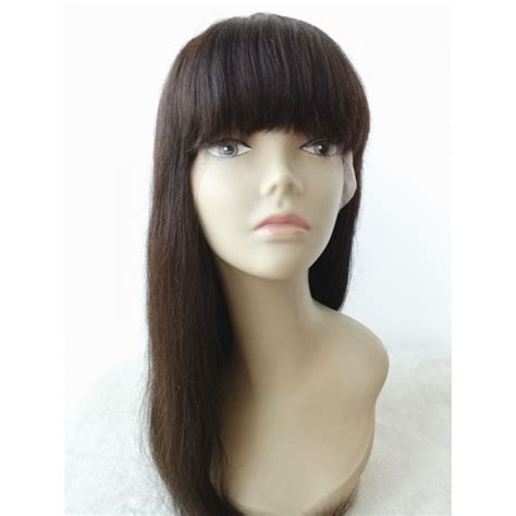 chinese bang wig black hair rachel new arrival silky straight brazilian virgin hair