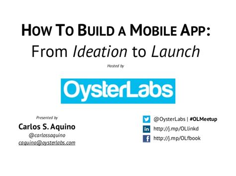 how to build a mobile app how to build a mobile app from ideation to launch