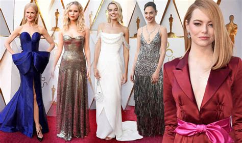 Oscars 2008 Best And Worst Dressed by Oscars 2018 Wow On The Studded