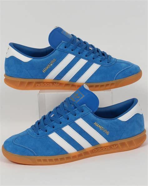 Sepatu Adidas Neo Clasic Blue adidas hamburg trainers bluebird white gum originals shoes