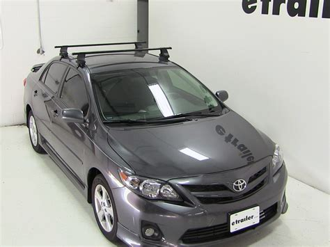 Toyota Corolla Roof Rack Thule Roof Rack For 2012 Corolla By Toyota Etrailer