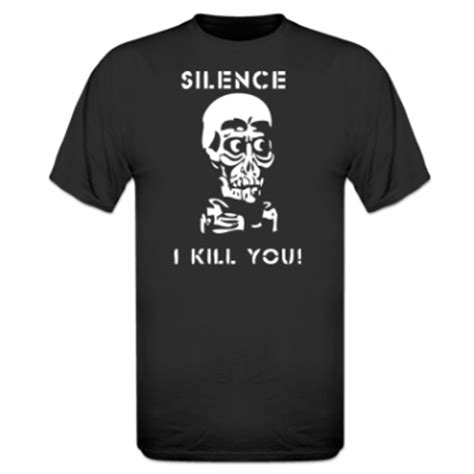 T Shirt Silence I Kill You Rggn buy a silence i kill you achmed t shirt by lioscorp
