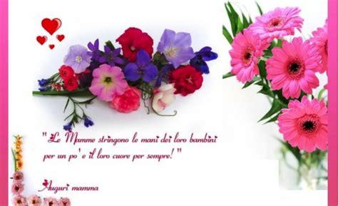 auguri con i fiori biglietto d auguri festa della mamma con i fiori mamme