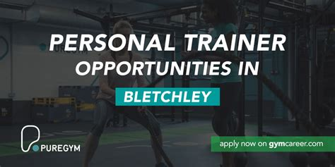 personal trainer needed  pure gym  bletchley gym career