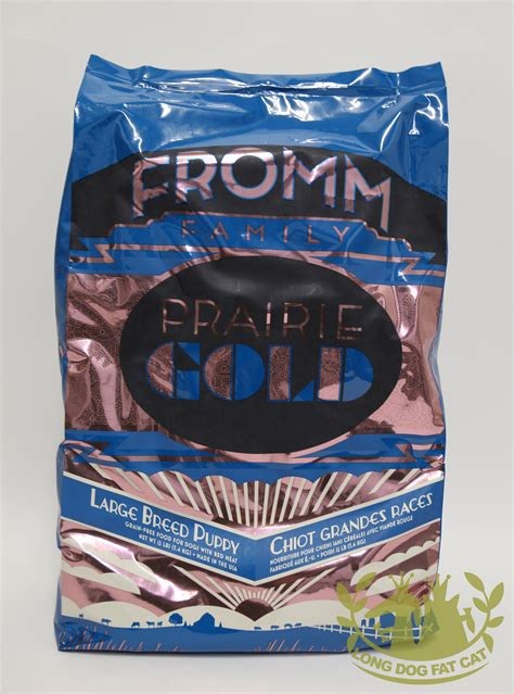 fromms food fromm prairie gold large breed puppy food