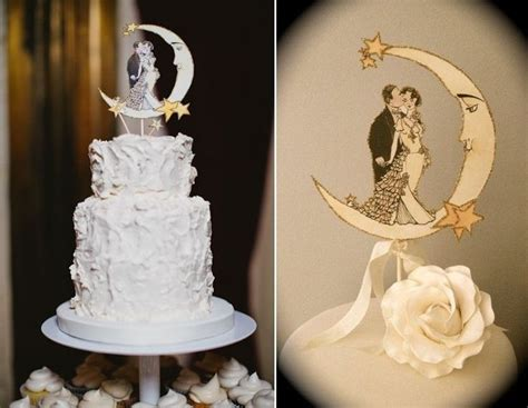 deco wedding cake toppers 20 fabulous decor ideas for an deco wedding chic vintage brides