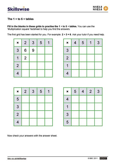 worksheet blank times table worksheet worksheet