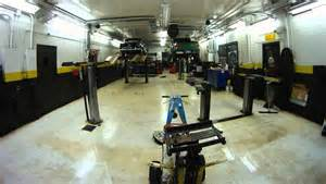 Auto Shop Floor Plans Timelapse How To Clean A Mechanic Shop Fast And