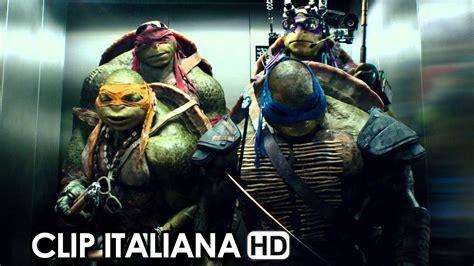 film tartarughe ninja italiano tartarughe ninja clip italiana ascensore 2014 megan