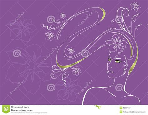 long hair stock photos royalty free images vectors girl with long hair vector illustration royalty free