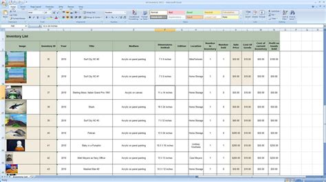 How To Make An Inventory Spreadsheet by How To Make A Spreadsheet For Inventory Laobingkaisuo