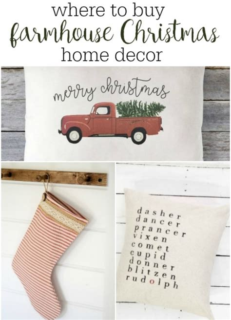 Buy Home Decor Items Farmhouse Home Decor Christinas Adventures