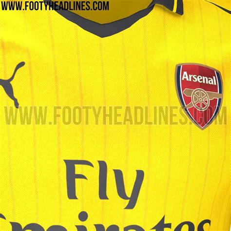 arsenal away kit 2016 17 arsenal 16 17 away kit leaked footy headlines