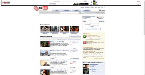 youtube layout evolution youtube layout 2005 2013 youtube