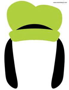 goofy hat template instant mickey mouse friends clubhouse