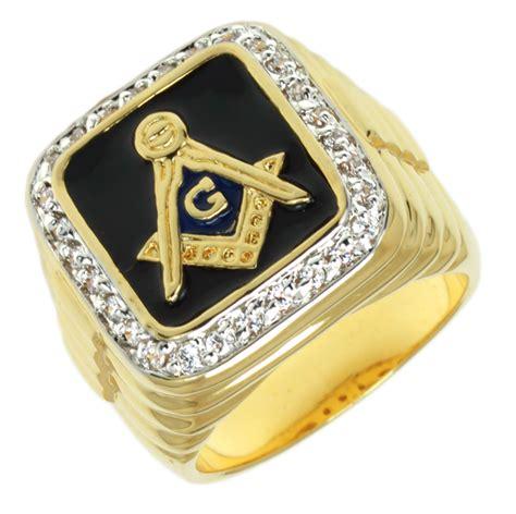 s gold plated masonic freemason blue lodge ring ebay