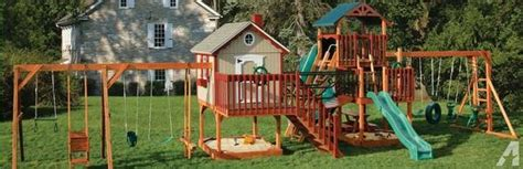 rent to own swing sets swingsets constructed from the amish within your lawn