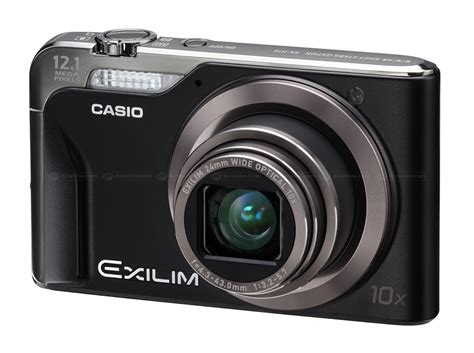 New Casio Exilim Cosies Up To Technology by Casio Unveils Exilim Ex H10 Ultra Compact Superzoom