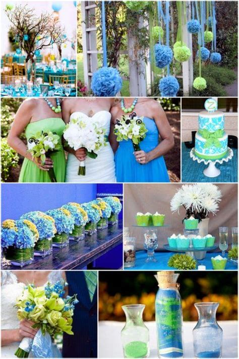 baby and spring green wedding color theme mint