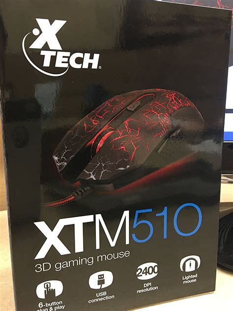 Mouse X Tech mouse gamer 3d xtm 510 xtech microplay