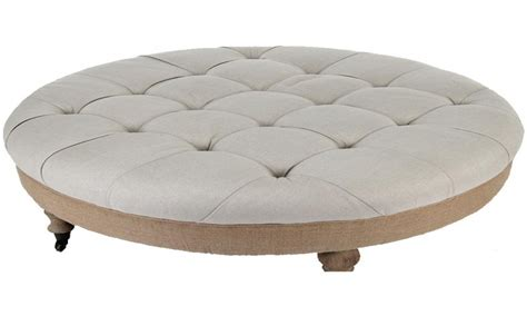 Large Upholstered Ottoman by Large Upholstered Ottoman Coffee Table