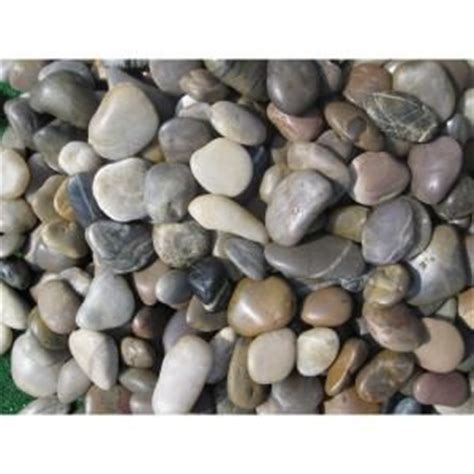 ms international mixed polished pebbles large 40 lb bag