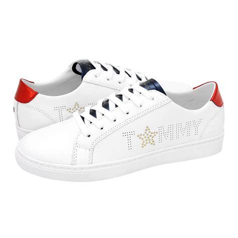 star metallic sneaker tommy hilfiger womens casual