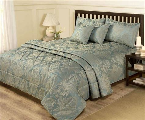 6 piece damask bed sets duvet quilt cover bedspread