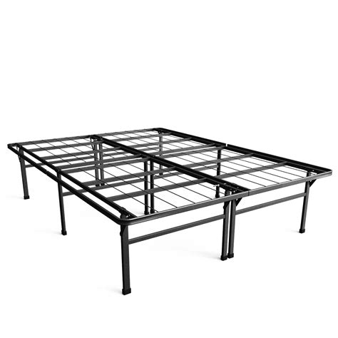 High Platform Bed Frame Therapy 18 Inch High Profile Smartbase Platform Bed Frame Home Mattresses