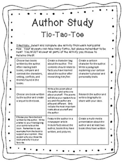Author Study Worksheet by Author Study Worksheet Rringband