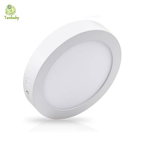 Led Suspended Ceiling Lights Tanbaby Surface Mounted Led Panel Light 6w 12w 18w Suspended Ceiling Panel Led L White