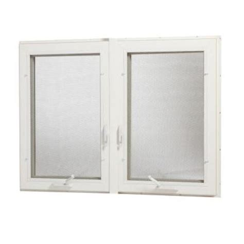 awning windows home depot tafco windows 48 in x 48 in vinyl casement window with