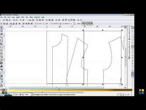 pattern drafting with inkscape 74 best images about inkscape how to on pinterest