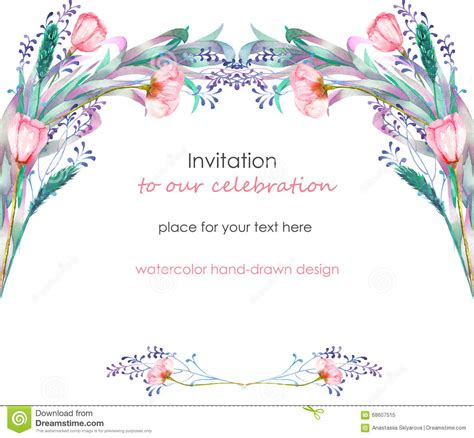template that says cards flowers card template with the floral design berries