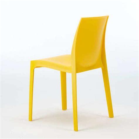 grand soleil sedie sedia impilabile lavabile in polipropilene per cucina bar