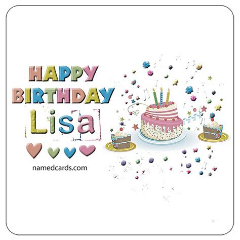 happy birthday lisa mp3 download happy birthday lisa card for facebook