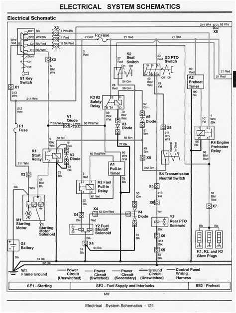 deere electrical schematic deere 185 schematics