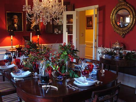 Brilliant elegant christmas dining room decorations on dining room