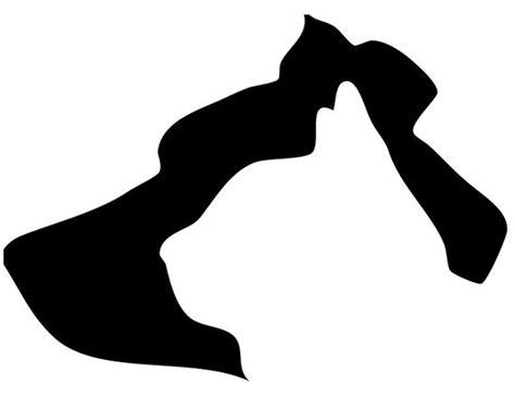 dog head silhouette clip art items similar to dog and cat head silhouette clip art on etsy
