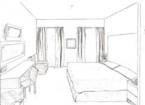 one point perspective bedroom 1 point of view room in drawing drawings from floor plans to 1 and 2 point perspective