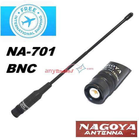 Antenna Nagoya Na 771 Bnc nagoya na 771 bnc connector 144 430mhz dual band high gain