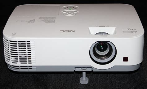 how to reset nec projector l with remote nec np me331w portable projector review hardware tour