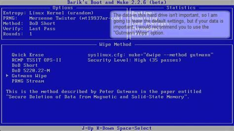 learn how to use darik s boot and nuke dban to wipe a