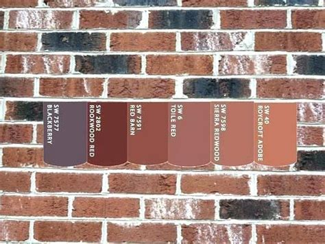 colors that go with brick need help with exterior paint
