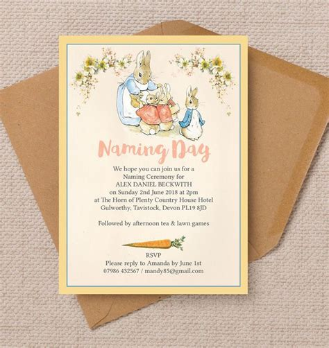 What To Write In A Baby Naming Ceremony Card